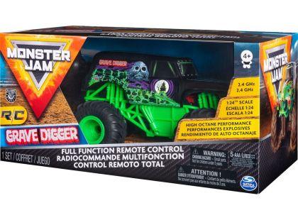 Spin Master Monster Jam RC Grave Digger 1:24