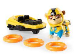 Spin Master Paw Patrol Akční figurky Sea Patrol člun Rubble