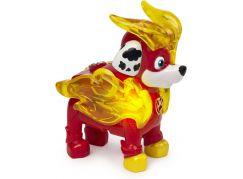 Spin Master Paw Patrol figurky se světelným efektem Marshall červený