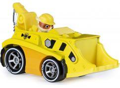 Spin Master Paw Patrol kovová autíčka super hrdinů Rubble 20115876