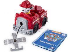 Spin Master Paw Patrol Malá vozidla s figurkou Marshall auto s navijákem