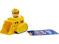 Spin Master Paw Patrol Malá vozidla s figurkou Rubble a pásový bagr