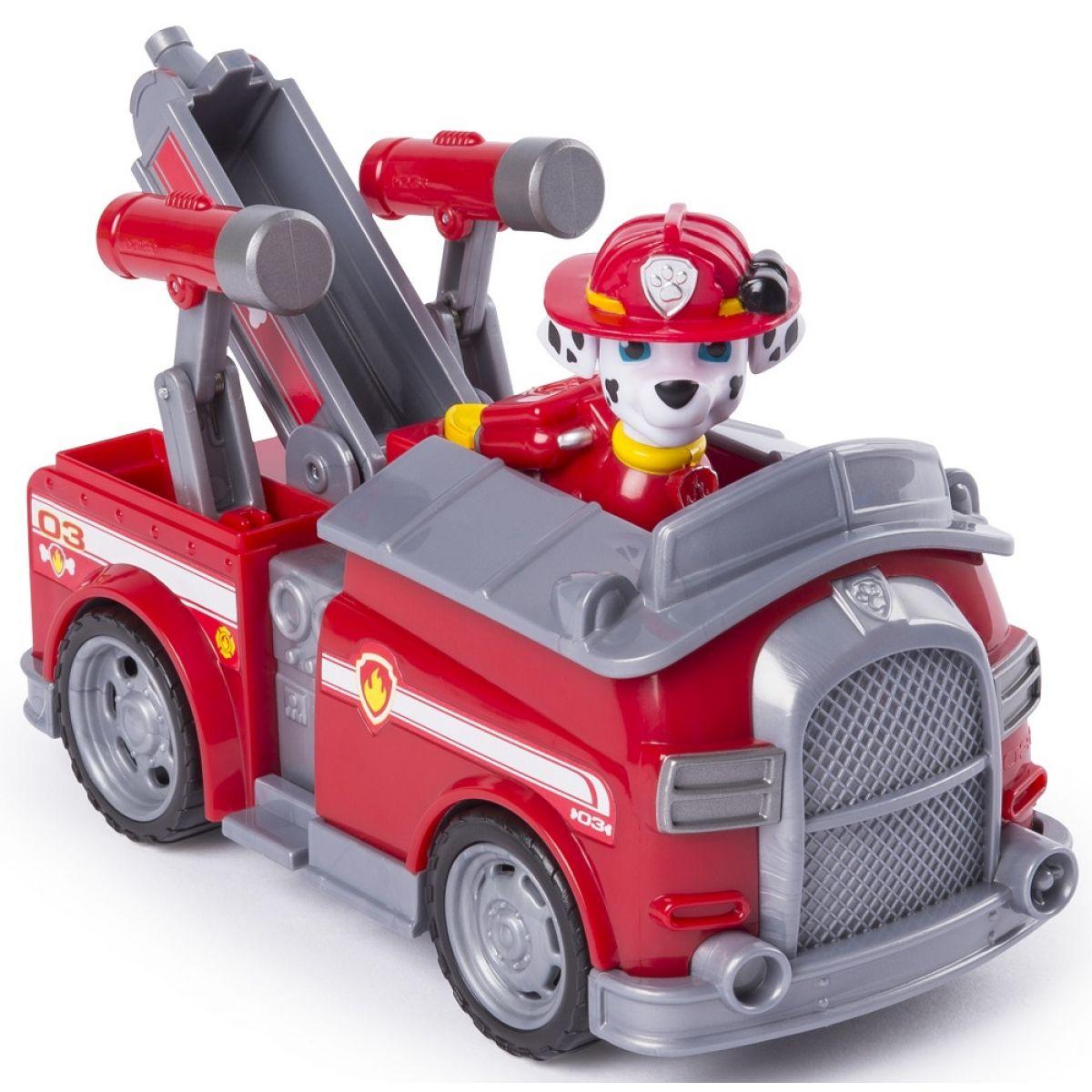 Spin Master Paw Patrol Marshall Transforming Fire Engine
