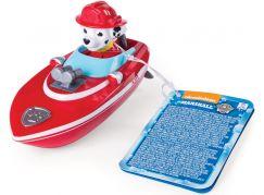Spin Master Paw Patrol Plavací figurky Marshall loď