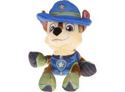 Spin Master Paw Patrol plyšový pejsek Chase v klobouku