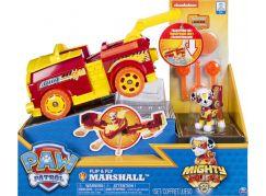 Spin Master Paw Patrol Rychle měnící se vozidla Superhrdinů Marshall - Poškozený obal