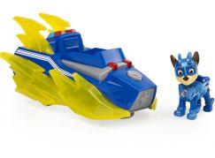 Spin Master Paw Patrol svítící vozidla hrdinů se zvuky Chase