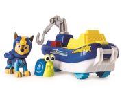 Spin Master Paw Patrol základní auta Sea Patrol Chase šedý hák žlutá sedačka