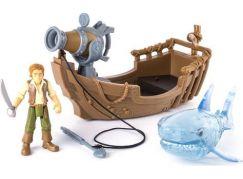 Spin Master Piráti z Karibiku Loď Will Turner