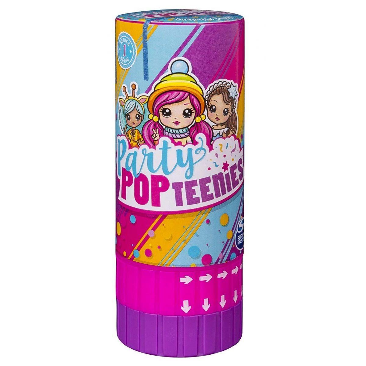 Spin Master Party Popteenies Tuba s konfetami a panenkou
