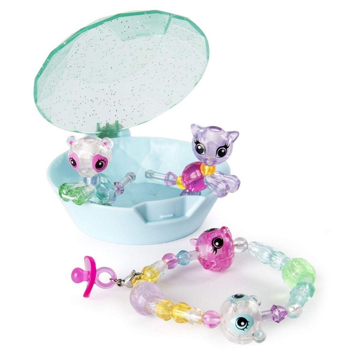 Spin Master Twisty Petz zvířátka a náramky miminka čtyřbalení zelený drahokam #3