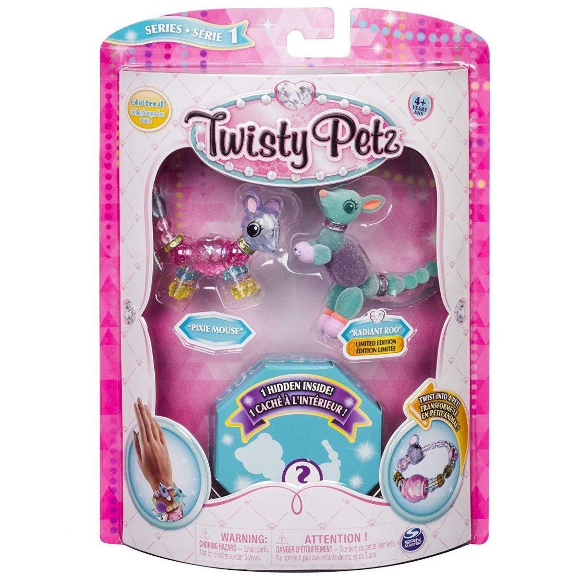 Spin Master Twisty Petz zvířátka a náramky trojbalení 20103207