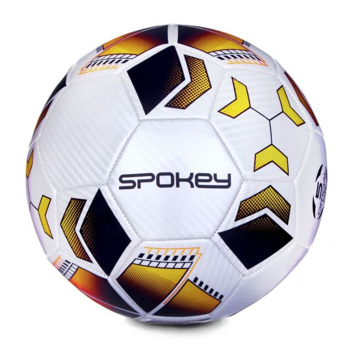 Spokey Agilit fotbalový míč vel.5 černo-oranžový