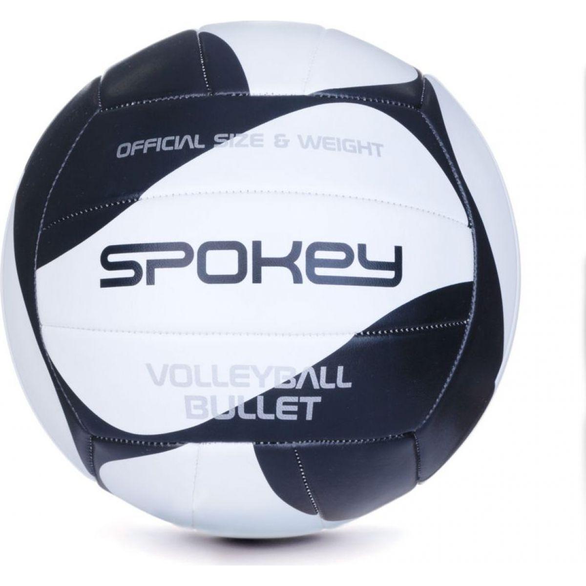 Spokey Bullet Volejbalový míč černo-bílý  rozm.5