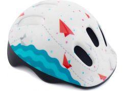Spokey Dětská cyklistická přilba Kite 49-56cm