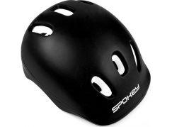 Spokey Enif Helmet přilba 52-54 cm černá