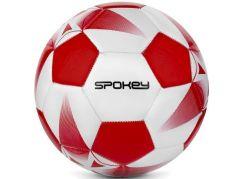Spokey Fotbalový míč E2018 bílo-červený č. 5