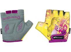 Spokey Giraffe Glove Dětské cyklistické rukavice XS (16 cm)