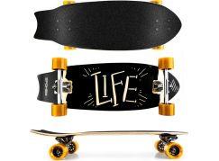 Spokey Life Longboard 67,5 x 25,5 cm ABEC7