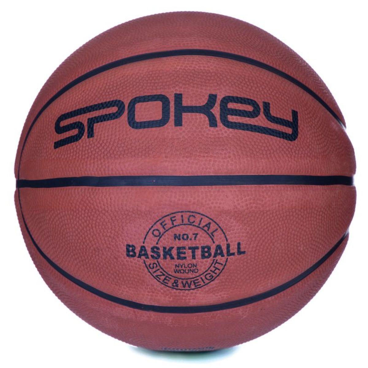 Spokey Míč na košíkovou Braziro II hnědý 5
