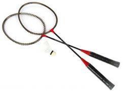 Spokey Sada na badminton s raketami a košíčkem