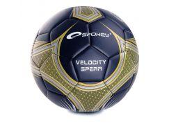 Spokey Velocity Spear fotbalový míč vel.5 černo-zlatý