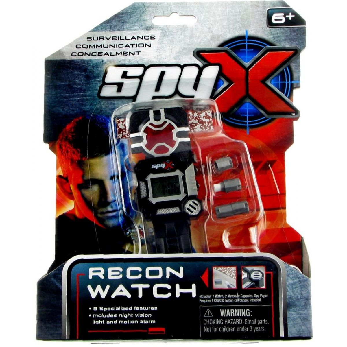 SpyX Špiónské hodinky #5