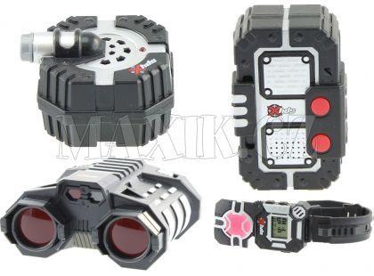 SpyX Velký špiónský set s dalekohledem - Poškozený obal