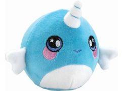 Squeezamals měkké plyšové zvířátko 9 cm Jednorožec modrý