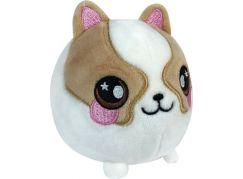 Squeezamals měkké plyšové zvířátko 9 cm Kočička