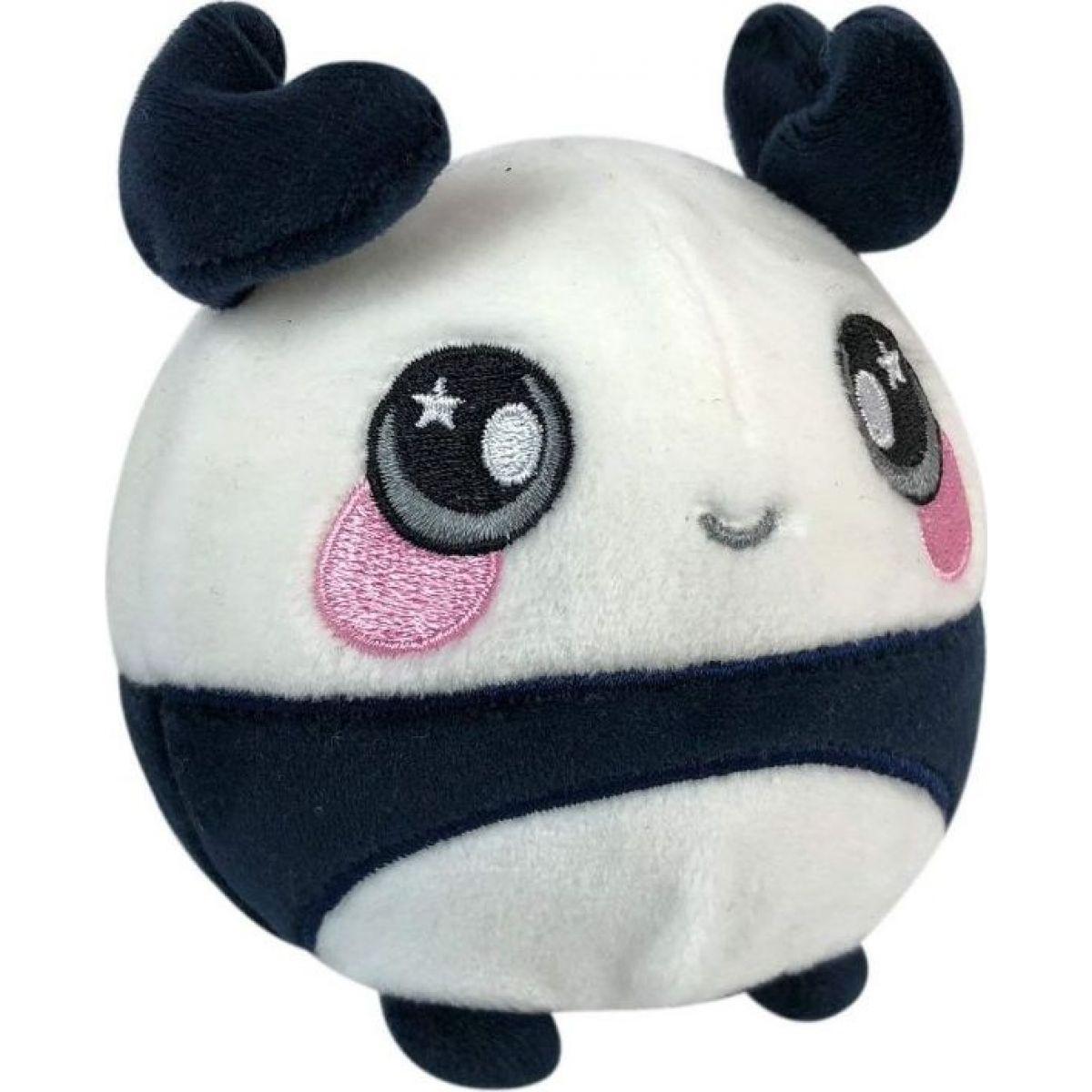 Squeezamals měkké plyšové zvířátko 9 cm Panda
