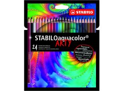 Stabilo aquacolor 24 ks pouzdro řada Arty