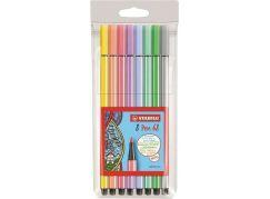 Stabilo Pen 68 pastel 8 ks pouzdro plast
