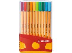 Stabilo point 88 ColorParade 20 ks