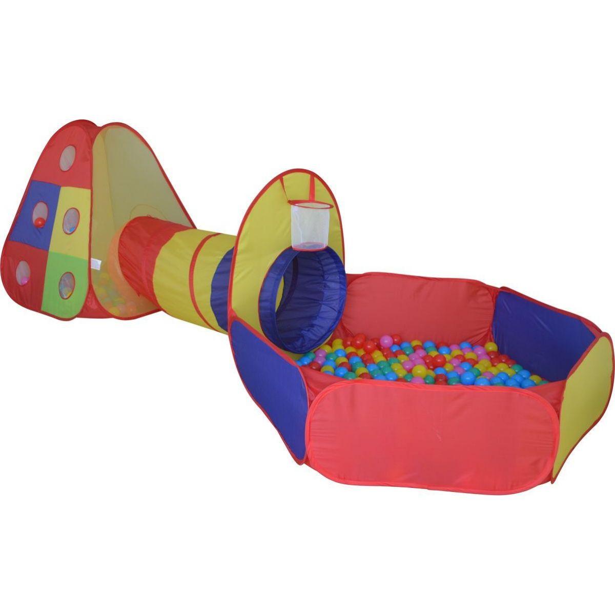 Stan s tunelem a míčky