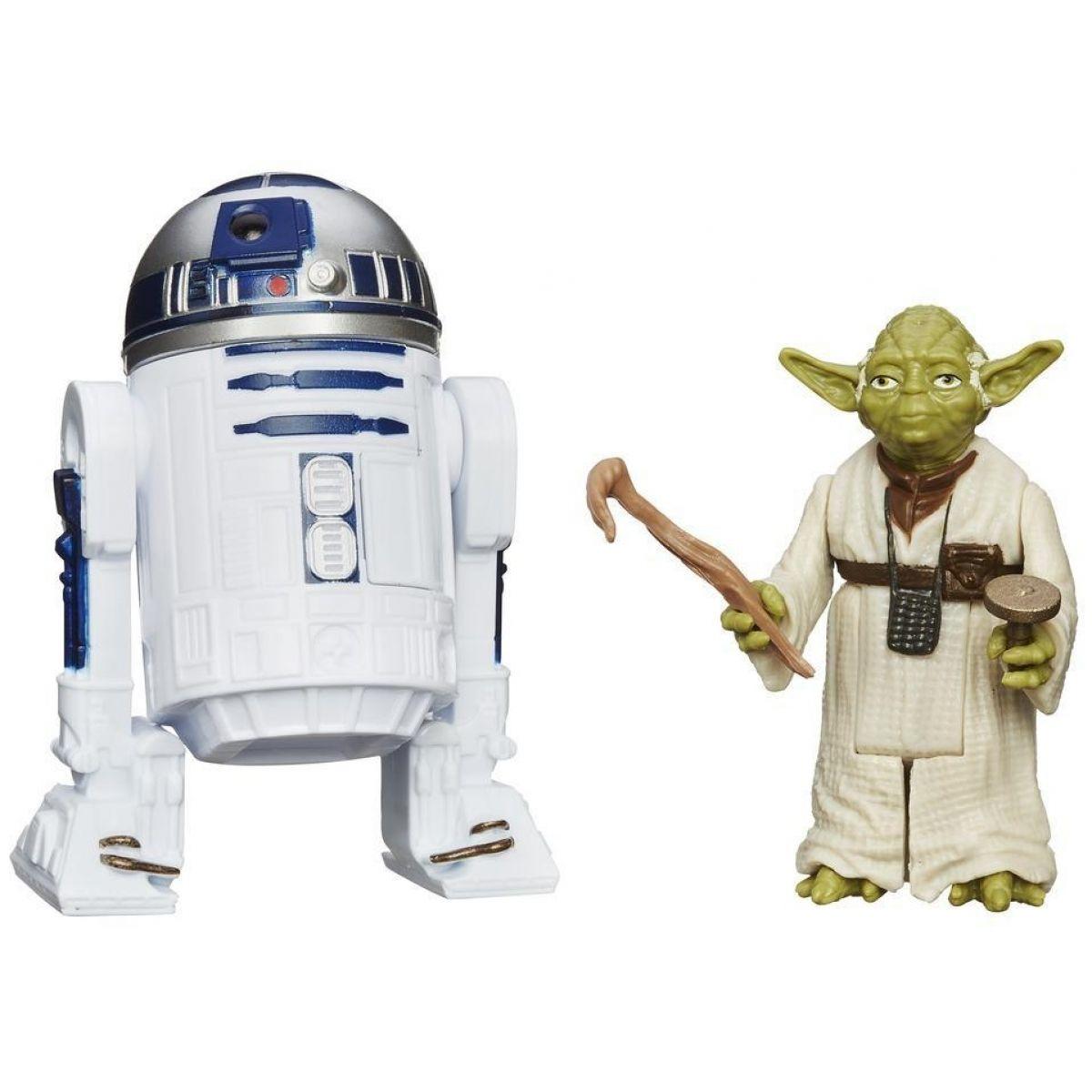 Star Wars akční figurky 2ks Hasbro A5228 - R2-D2 a Yoda