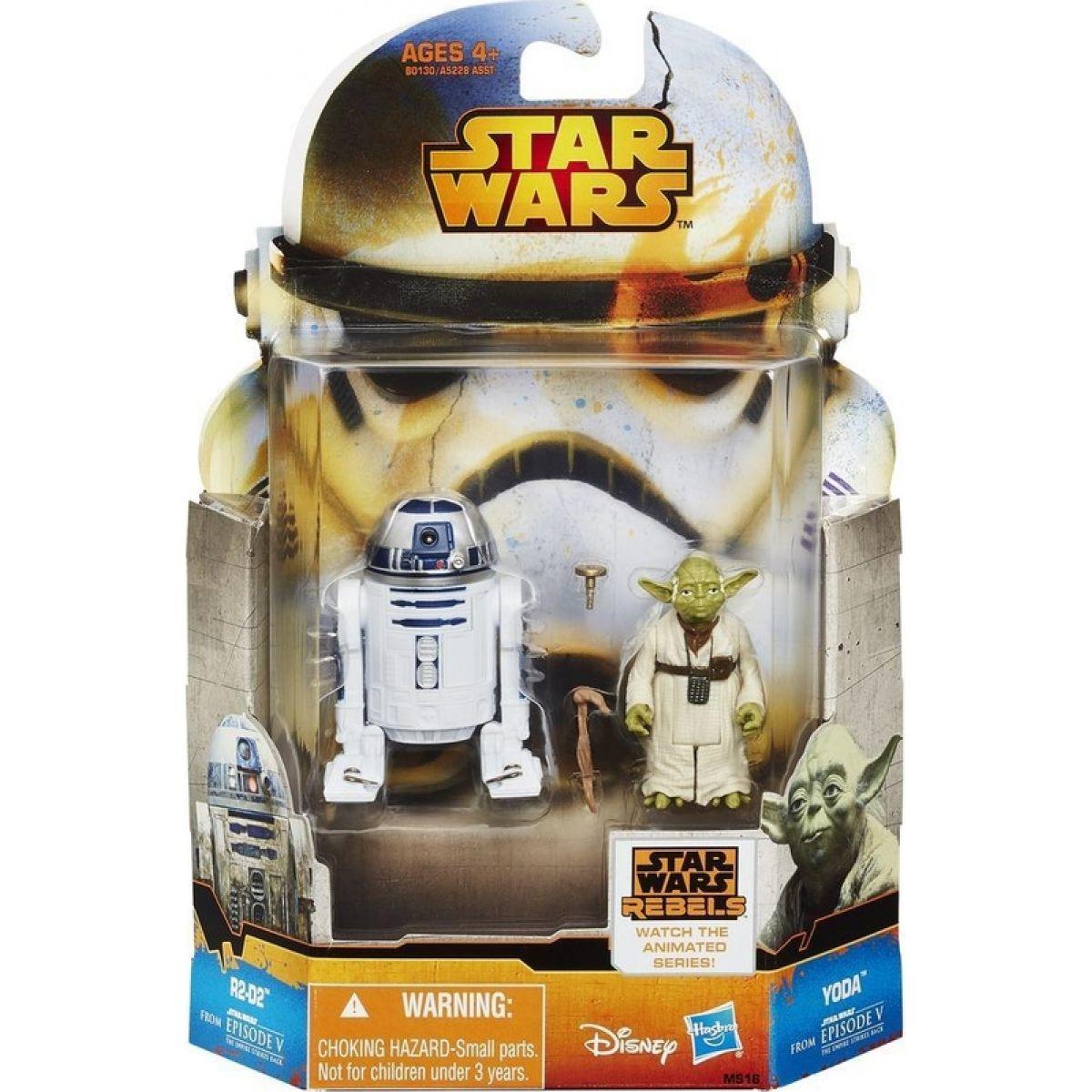 Star Wars akční figurky 2ks Hasbro A5228 - R2-D2 a Yoda #2