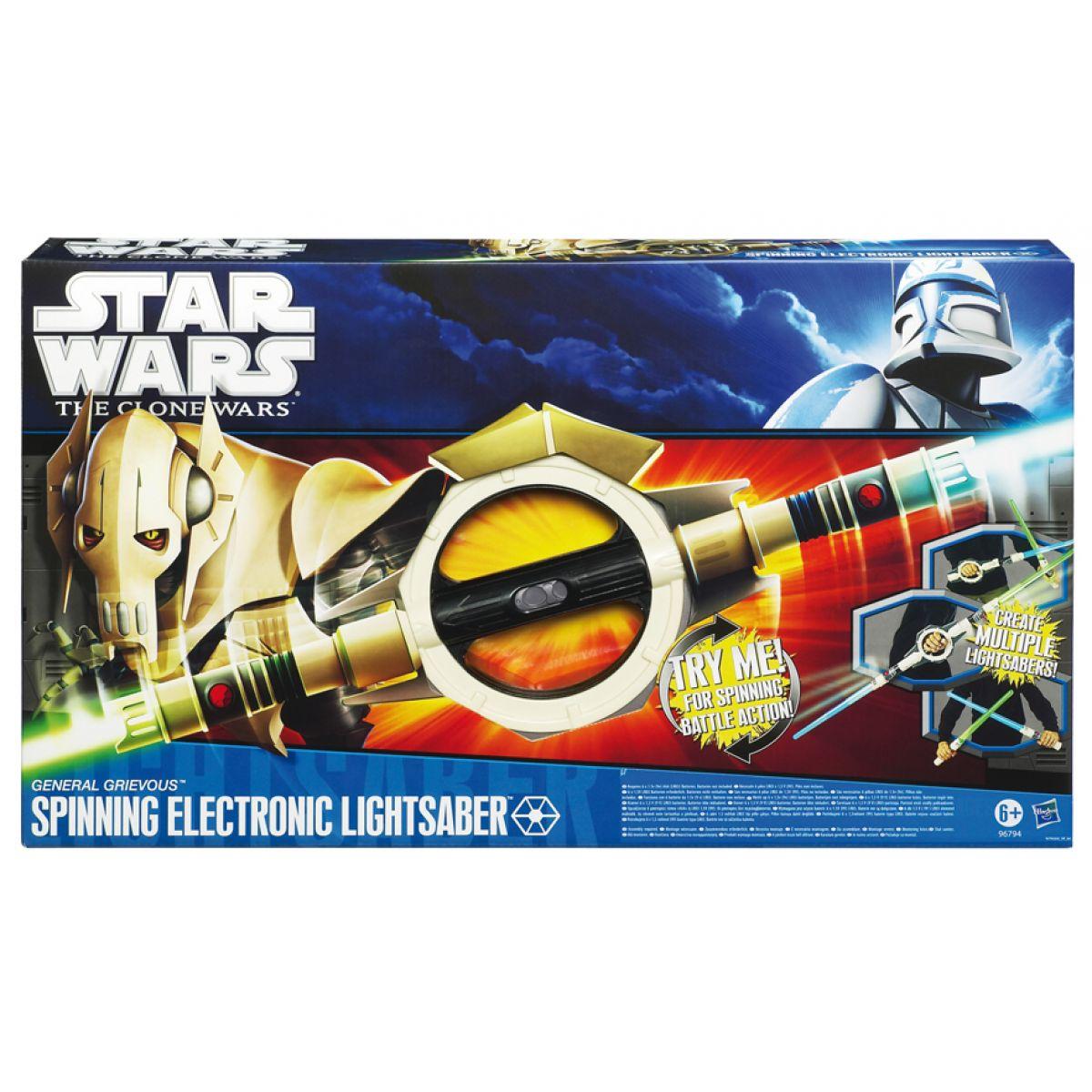 Star Wars Oboustranný otáčecí meč Hasbro