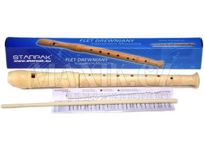 Starpak Flétna dřevěná 31cm