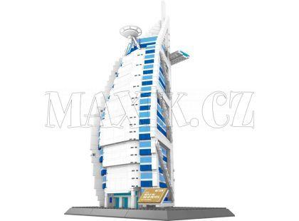 Stavebnice Burj Al Arab 1307 dílků