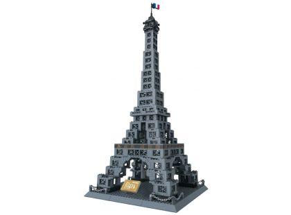 Stavebnice Eiffelova věž 978 dílků