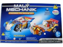 Stavebnice Malý mechanik auto (zlaté)