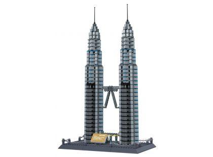 Stavebnice Petronas věže 1160 dílků