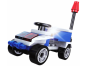 Stavebnice Policie s LED kostkou 2v1 - Chase Car 2