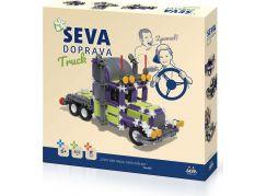 Stavebnice SEVA doprava Truck 402 dílků
