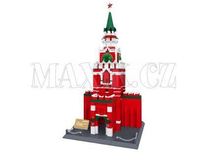 Stavebnice Spasskaya věž Kreml 1048 dílků