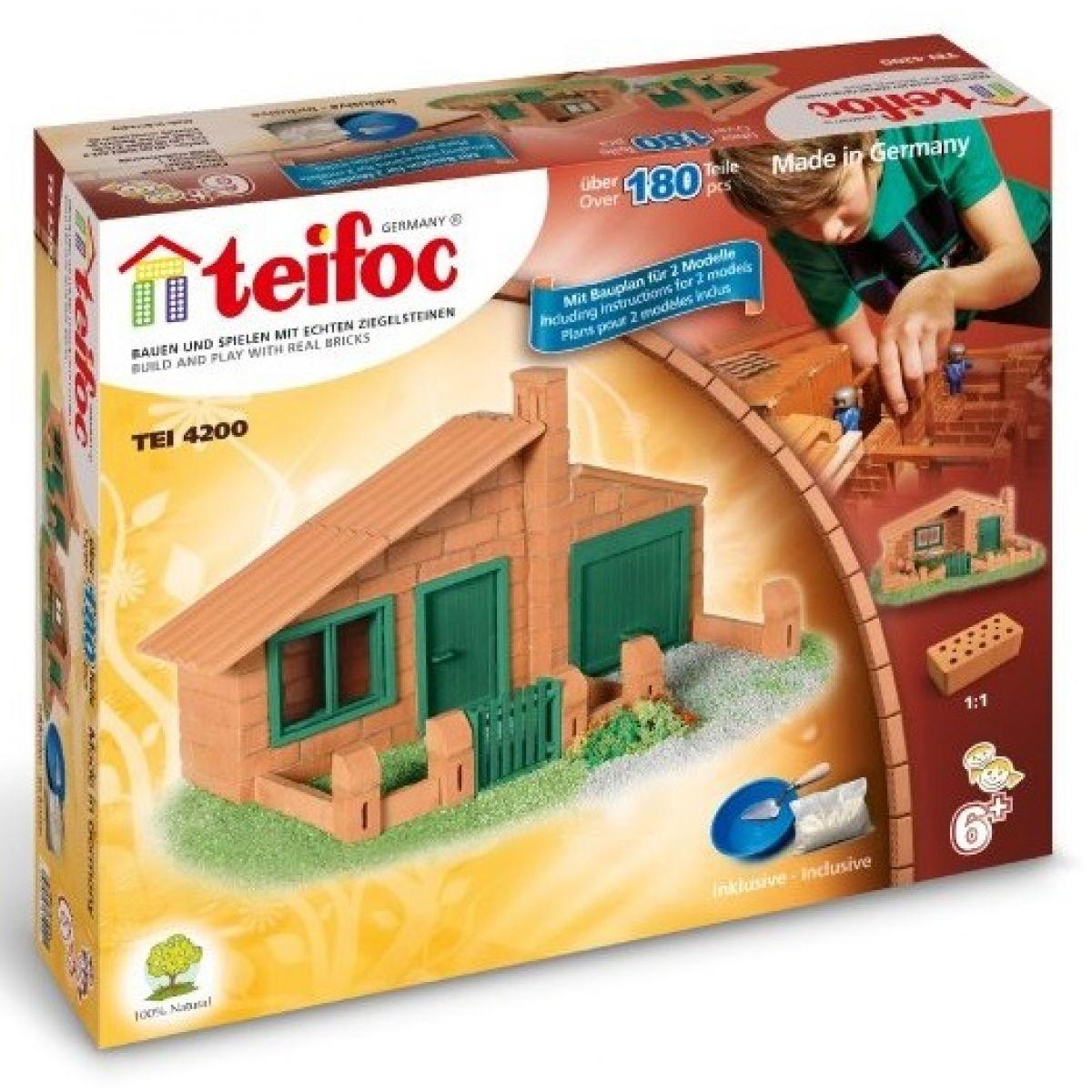 Stavebnice Teifoc Domek Luis 180ks
