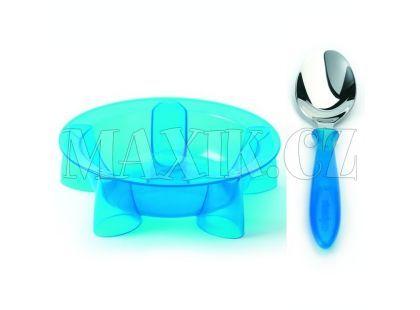 Steady talíř hluboký & lžíce Blue