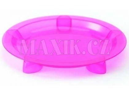 Steady talíř mělký Pink