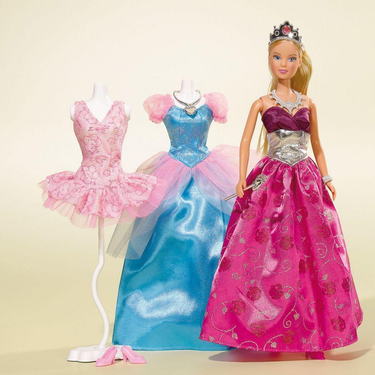 Steffi Love Šaty Princess Fashion modré